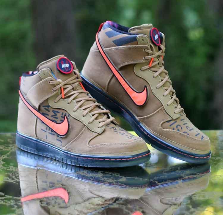 best website cbcad 3ab2d ... Nike Dunk High Premium QS All Star Pack Galaxy 503766-780 Men s Size 12