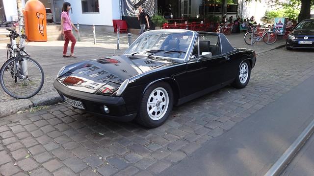 ab 1969 dreisitziges Mittel-Motor-Coupé mit Targa-Dach Porsche 914 von Karmann/Volkswagen/Porsche Weinbergsweg in 10119 Berlin