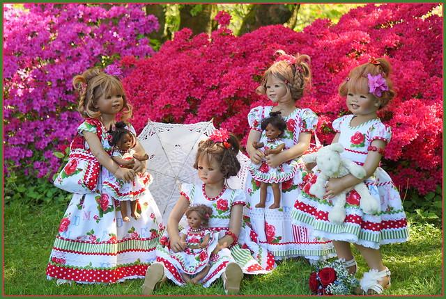 Kindergartenkinder ... es kommen rosige Zeiten ...