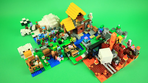 LEGO Minecraft 2018 sets combined - Official version   by BRICK 101
