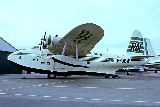 F-OBIP   Short S.25 Sandringham 7 [SB.2022] (Musee de l'Air et de l'Espace) Paris Le-Bourget~F 13/06/1981