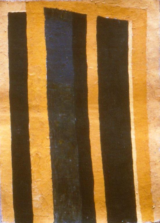 Porta III - Oil on jute 1997