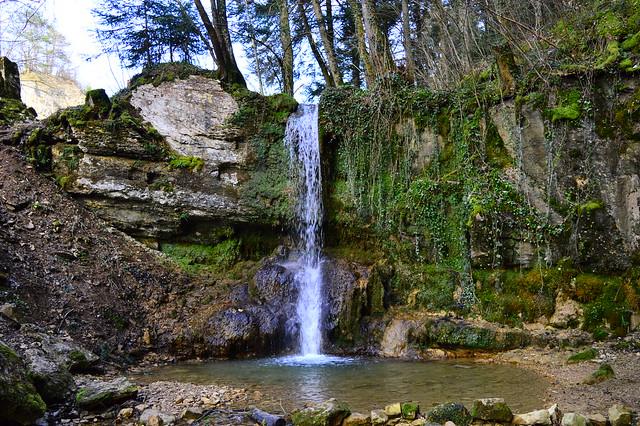 Wasserfall in Linn