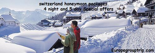 Switzerland honeymoon tour package