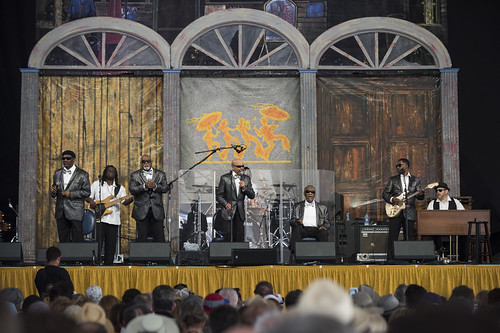 Blind Boys of Alabama perform during Jazz Fest day 4 on May 3, 2018. Photo by Ryan Hodgson-Rigsbee RHRphoto.com