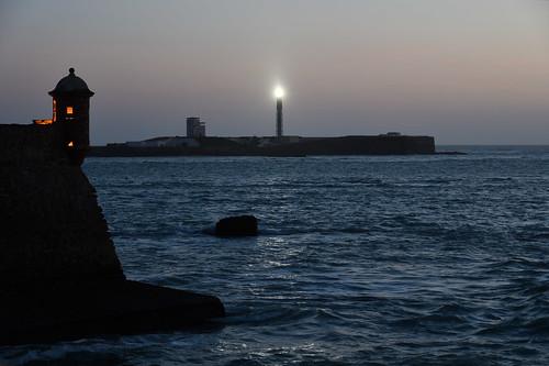 Faro de San Sebastián, Cádiz   by Rafael de Luis