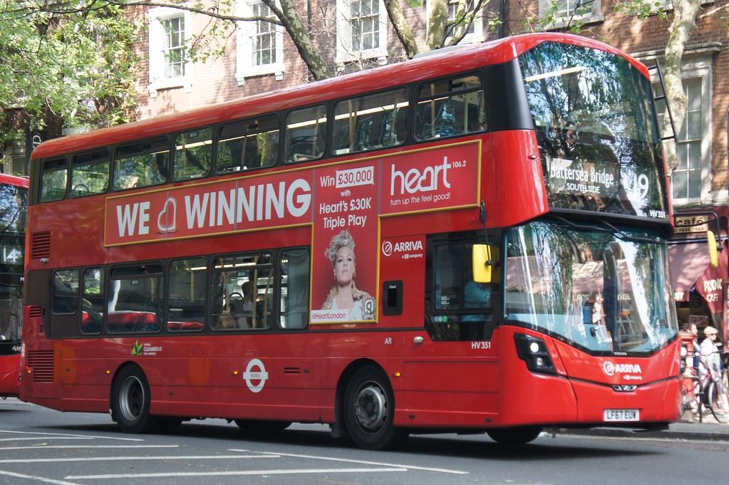 Arriva London TFL Route 19 - HV351 -