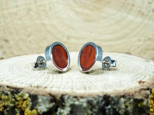 Etsy delicate stud earrings.