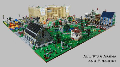 All Star Arena precinct