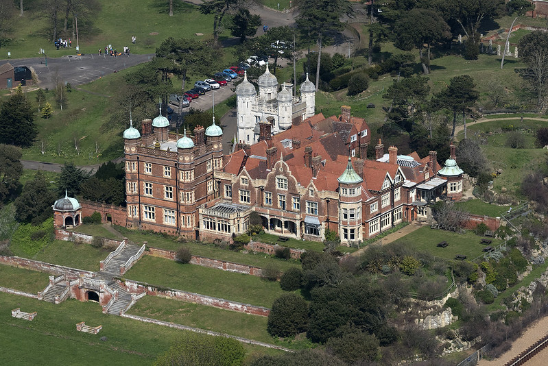 Bawdsey Manor aerial