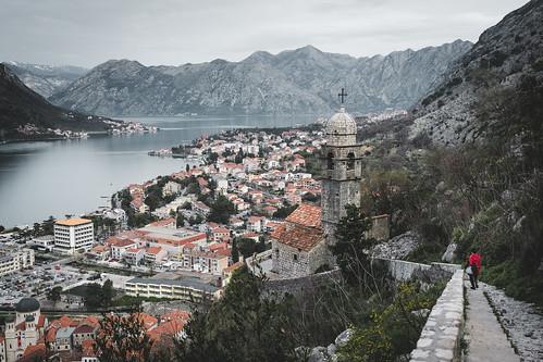 church fujixpro2 kotor travel balkan city montenegro europe mountains opštinakotor me