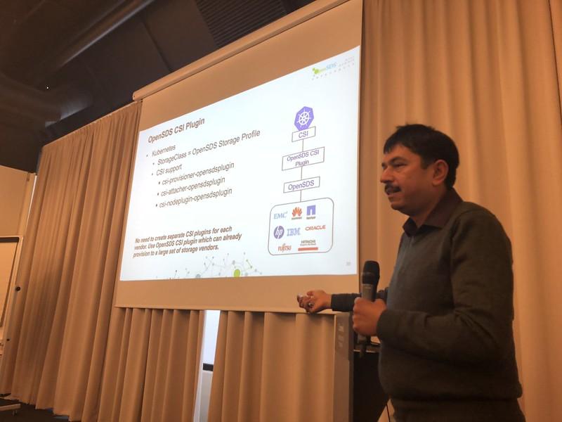 OpenSDS Mini-Summit Copenhagen 2018