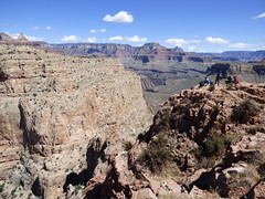 Grand Canyon - South Kaibab Trail, at Skeleton Point (4)