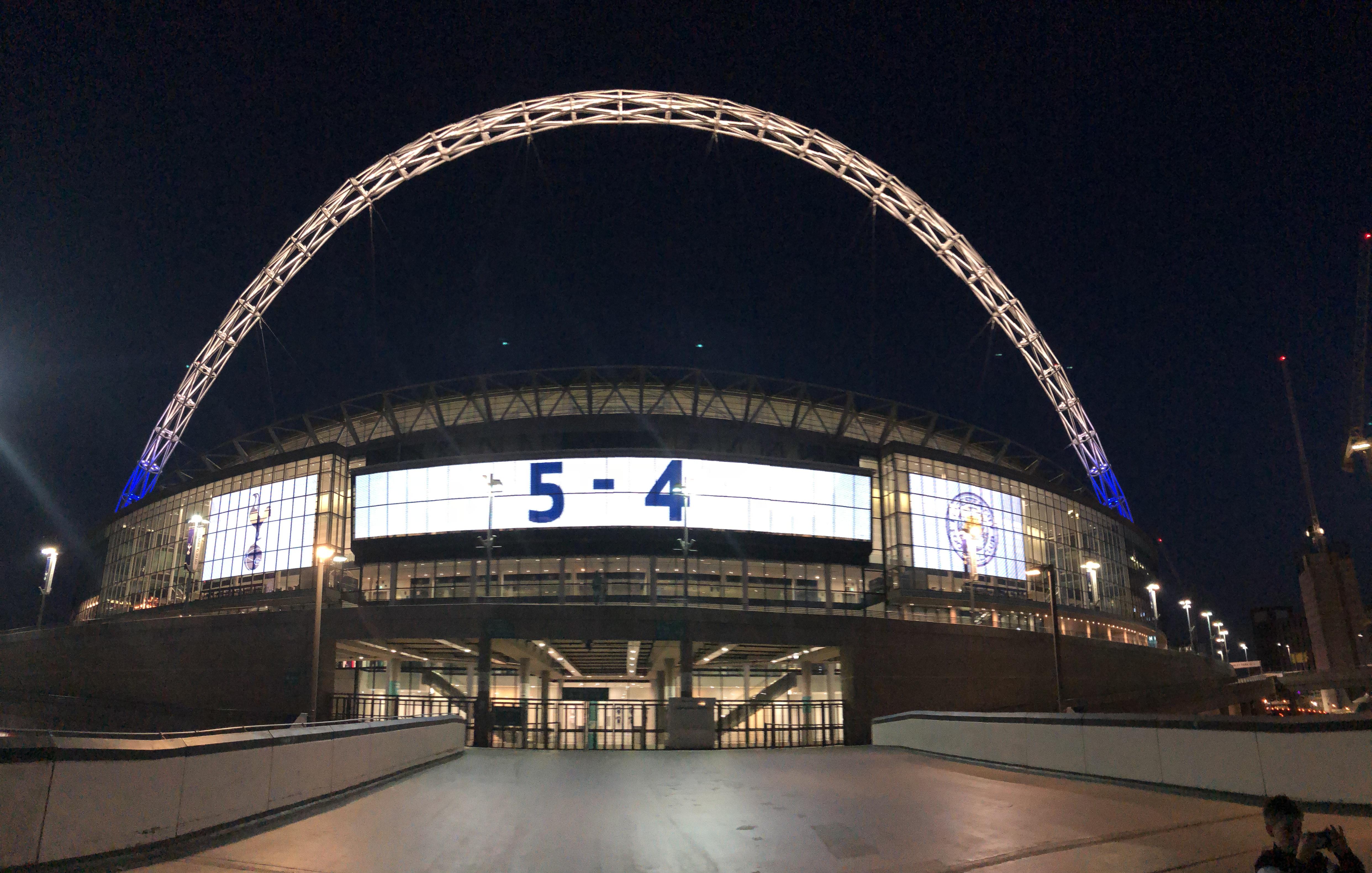 Spurs v Leicester 5:4