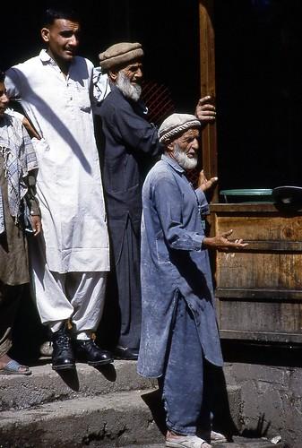 personnages barhain valléedeswat pakistan scènederue