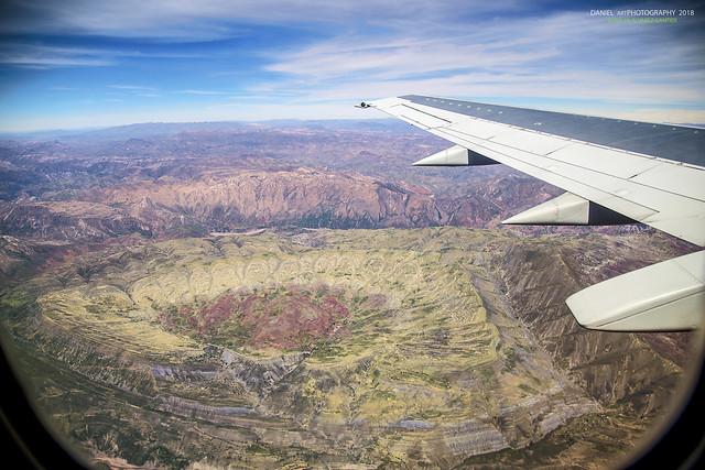 El cráter de Maragua