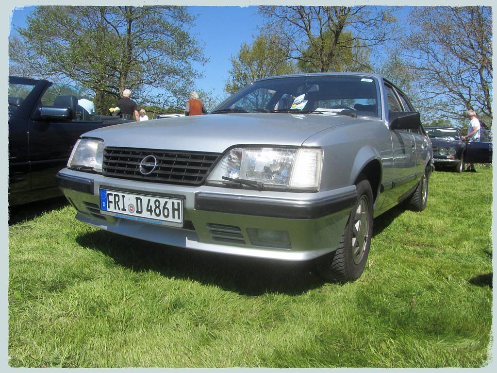 Opel Senator A2 1986 16 Rcn Oldtimertreffen Debstedt 0 Flickr