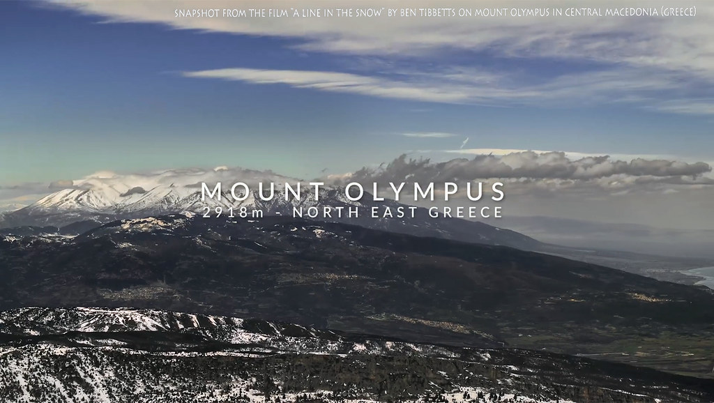 Greece, Central Macedonia, Mount Olympos, snow skiing