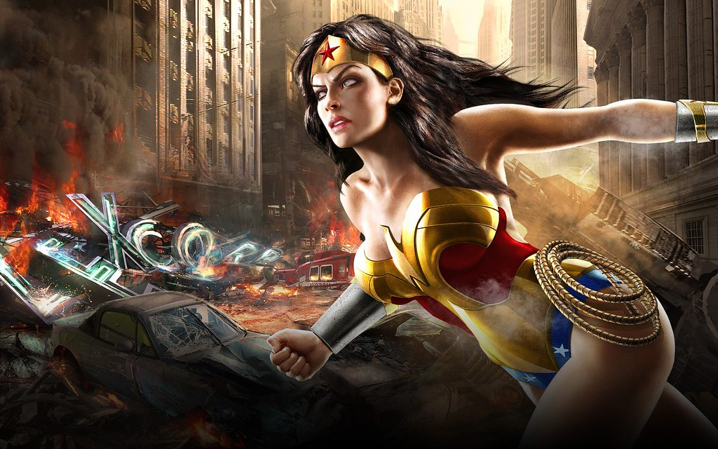 Wonder Woman Hd Wallpapers Elvis Vinicius Monteiro Flickr