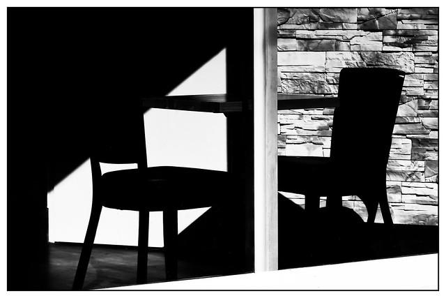 empty conversation [ - chairs - ]