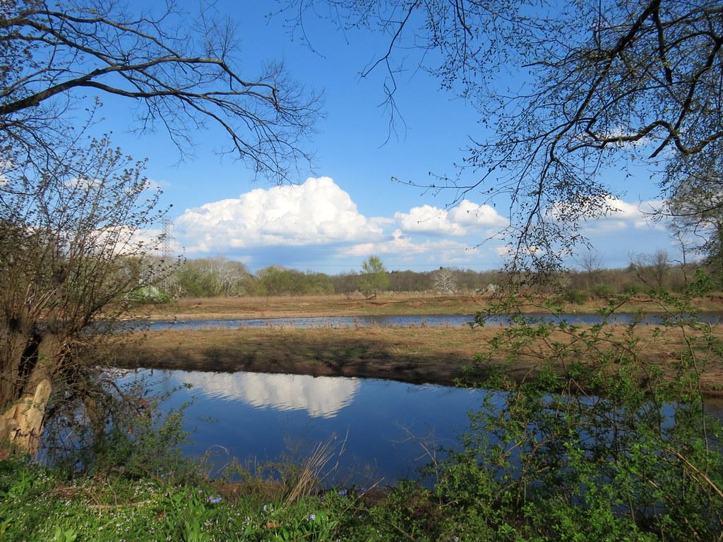raritan river in spring glory