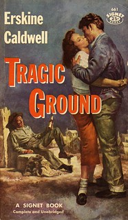 Signet Books 661 - Erskine Caldwell - Tragic Ground