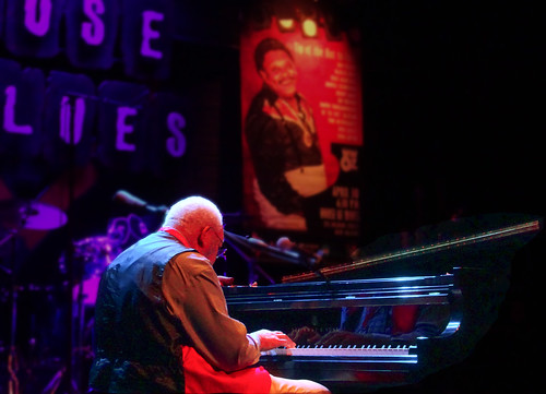Ellis Marsalis at Piano Night. Photo by Charlie Steiner.