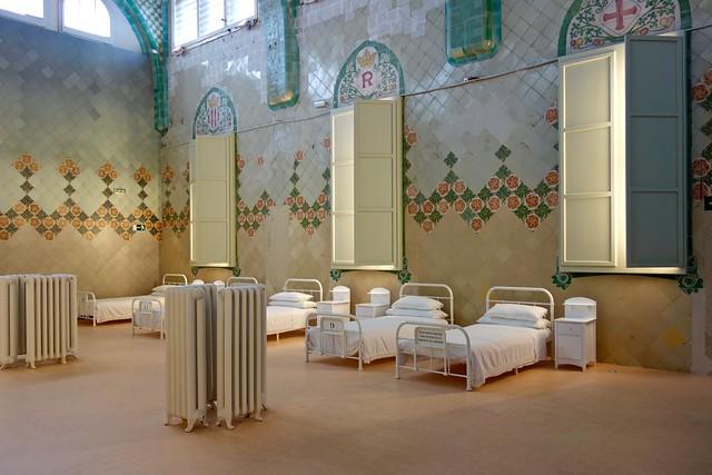 Ziekenzaal / Recente Modernist de Sant Pau / Barcelona