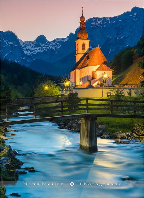St Sebastian Church - Ramsau - Germany