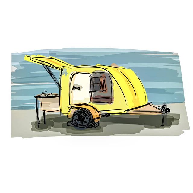 A bicycle-towable two-person mini beehive camper would be … | Flickr
