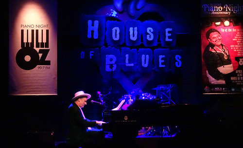Jon Cleary at Piano Night. Photo by Charlie Steiner.