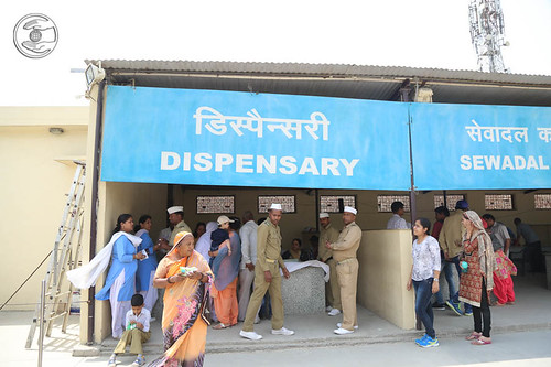 Free Allopathic dispensary in Samagam Campus