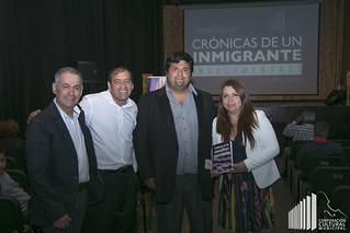 Lanzamiento del Libro Crónicas de un Inmigrante