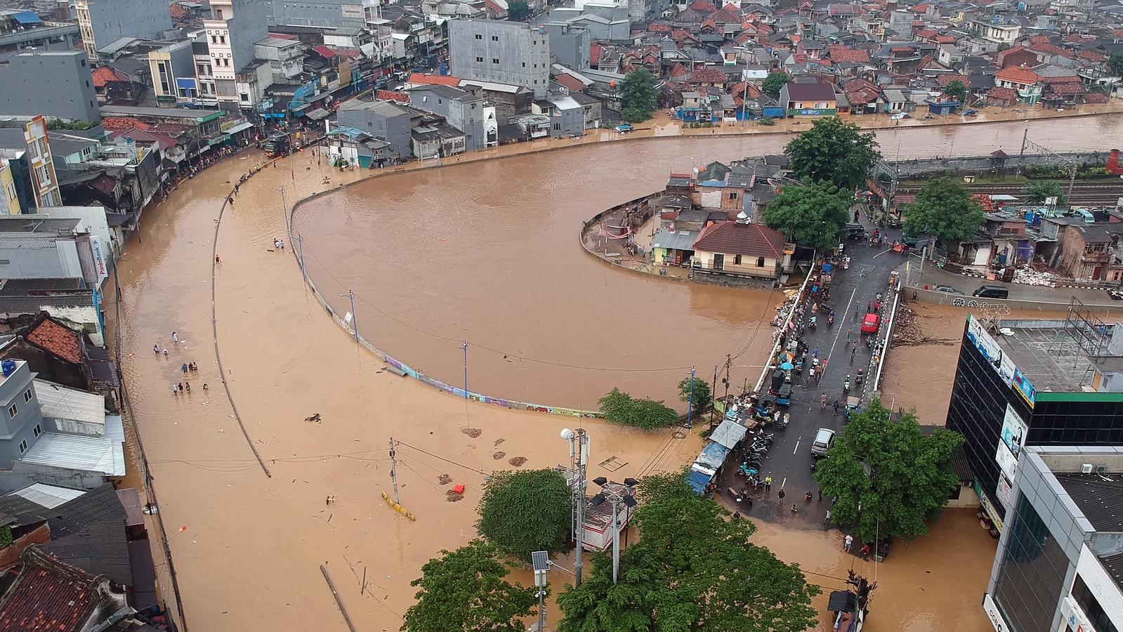 photo of Jakarta flood