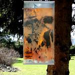 Objektdruck 2018 Acrylglas 3 fach Rückseite  50x100
