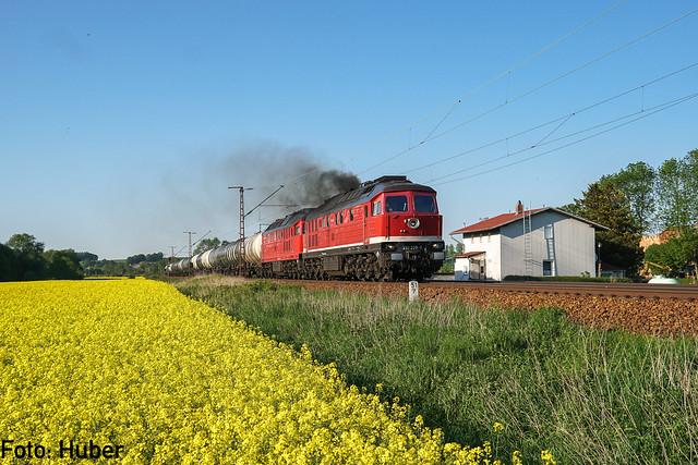 232 238 + 232 673 Leipziger Eisenbahnverkehrsgesellschaft mbH | Gößnitz | Mai 2018