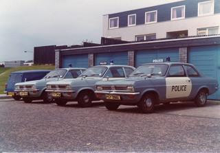 Vauxhall Viva 'HC' JSF 130N,TSY 240M & PSY 396L, 'ZH F23,17 &18',Lothian & Borders Police.Livingston.1975   by landshark2084