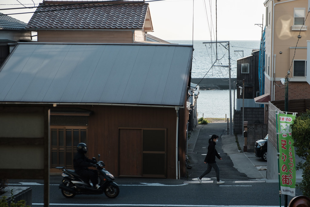 Japanese fishing port