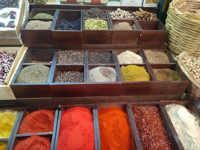 aromas of oriental spices