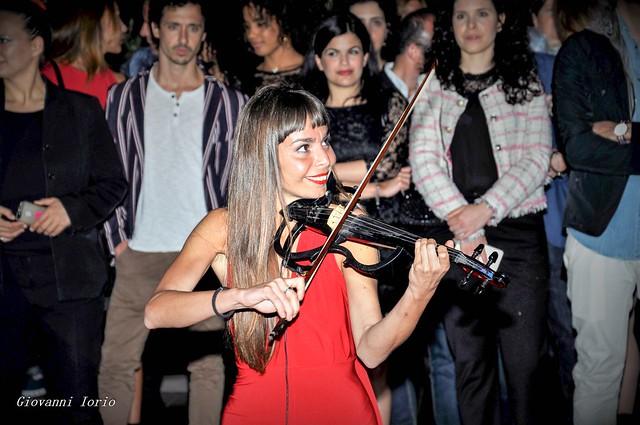 violon féminin