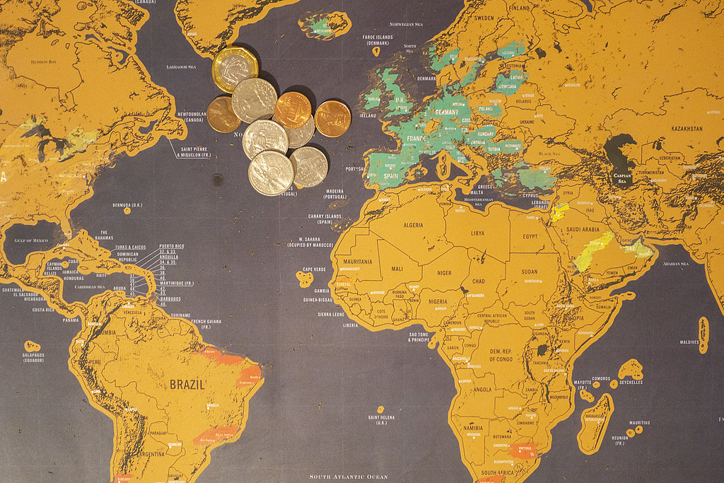 21 7 continents (3)   The map does not have the Far East on ...