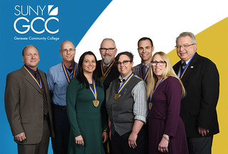 Wed, 05/16/2018 - 15:00 - Standing left to right are Raymond A. Boucher, Raymond Strzelecki, Tara E. Conrad; Joseph L. Ziolkowski, Candice S. Vacin, David W. Johson, Carol E. Geiselmann, and Timothy P. Tomczak. Missing from the photo is Amy Masters.