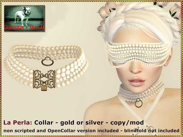 Bliensen - La Perla - Collar