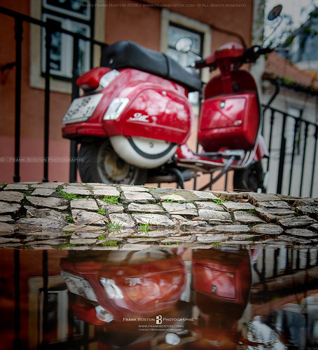 Vespa in Lisboa | by Frank Boston Photographie
