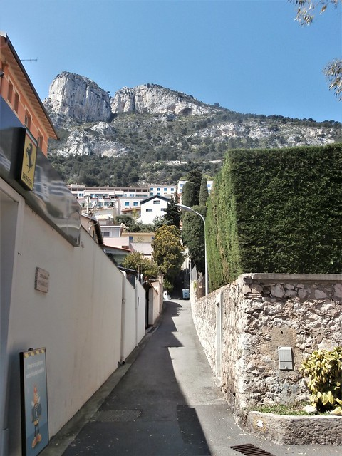 Monaco-France border - Escalier des Pissarelles