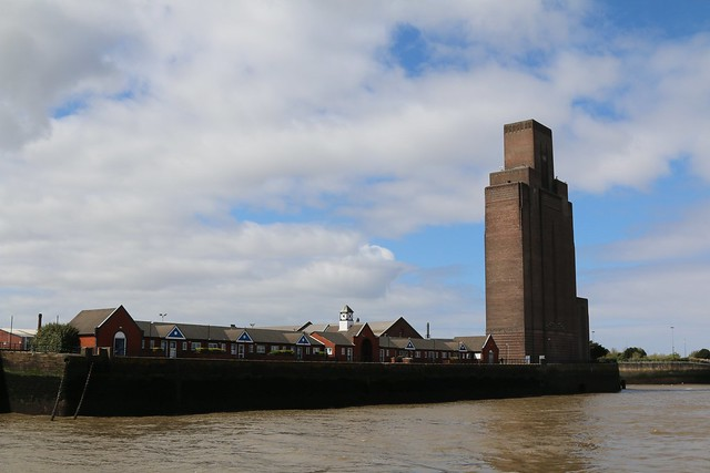 26th April 2018. The Mersey Tunnel Vent at Birkenhead, the Wirral, Cheshire
