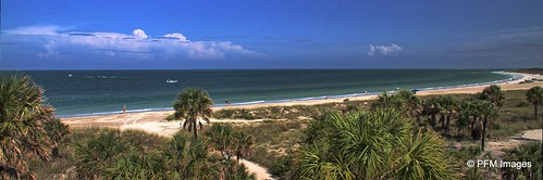 paradise florida stpetersburg tierraverde ftdesoto desoto fort beach pinellascounty park coastal water sea ocean tampabay palmtree trees sky clouds blue aqua sand outdoor landscape flickr panorama summer green palm bay canon eos 7d hdr