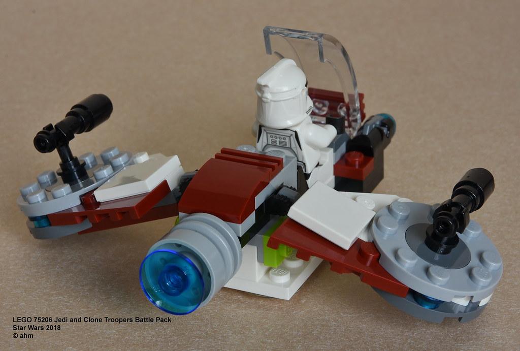 Lego Star Wars 75206 Jedi and Clone Trooper Battle Pack BARRISS OFFEE minifigure