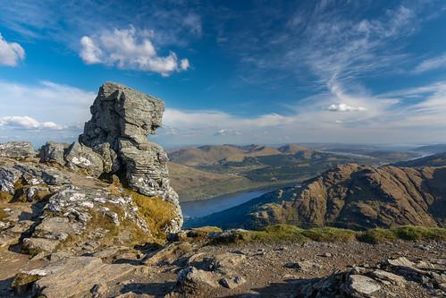 loch mountain munro benarthur cobbler bendonich lochgoil lochgoilhead arrocharalps landscape view panorama scotland nikond7200 tokina1116mm