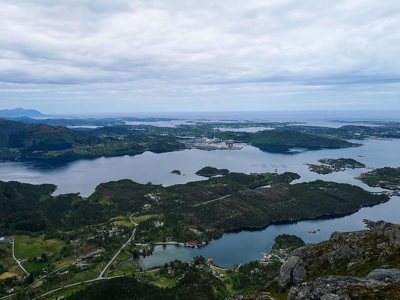 19-Utsikt mot Averøya fra Freikollen